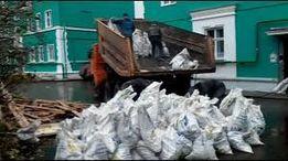 Вывоз мусора строительного, хлама, грунта