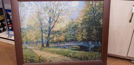 Старинная картина (пейзаж)