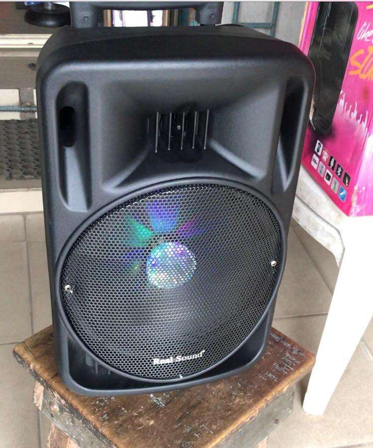 Brand New Trolley Bluetooth Speaker with party light 0