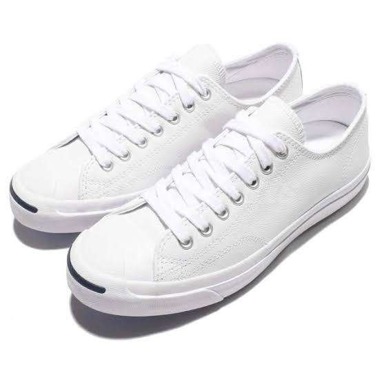 Converse Jack Purcell White Size 3 & 1/2 0