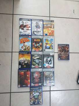 14 great condition playstation 2 games