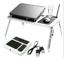 New! Adjustable Folding Laptop Table E-Table With Cooling Fans