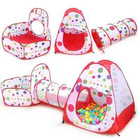 3in1 ball pool tent Red only