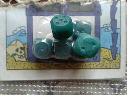 Кубики для настольной игры 12 шт