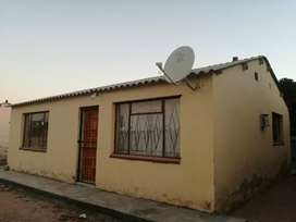 2 Bedroom house to rent in Seshego.