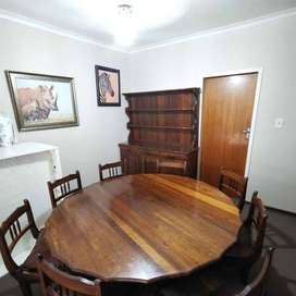 8 Seater dining table + Side unit