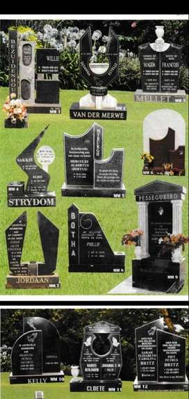 Tombstones sales and installation