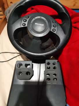 Steering wheel and paddles for xbox 360