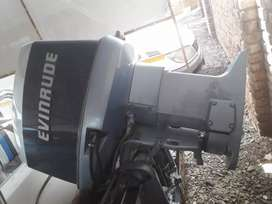 Evinrude 150 v6 powerhead with gearbox