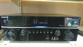7 Samsung speakers and amp with remote