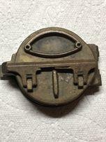 Wojskowy stary kompas .