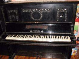 pianino Neumann z przedwojennego Poznania