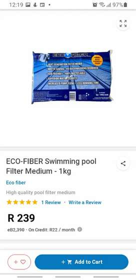 Eco Fiber 8s to use in your pool pump instead of sand