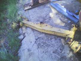 Tractor front axle