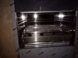 Gas stove, fireplace and gas braai installation