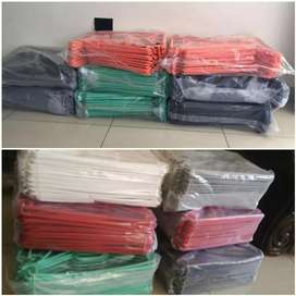 Assorted Color hangers Frm R100.  80 in a pack