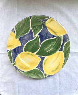 Clayton Tableware Lemon and Apple Design Plates