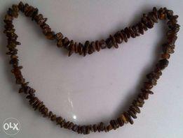 Бусы ожерелье янтарь натуральный