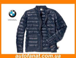 Куртка BMW. Оригинальная мужская куртка БМВ. Пуховик курточка БМВ