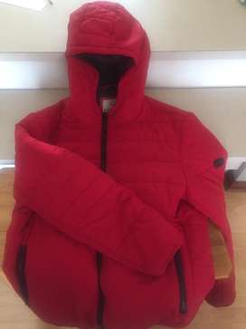 Red Refinery puffer jacket