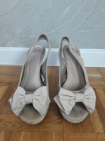 Sandały koturny buty Koluszki - image 1