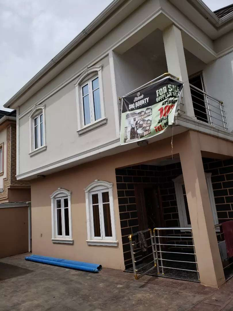 Newly built 4 bedroom duplex at omole phase 2 0