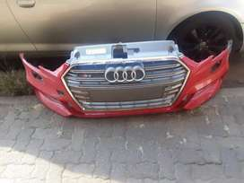 Audi A3 / S3 bumper and grille