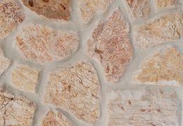 Rock Face Żółty, Kamień Naturalny, Ściany, Elewacje, Murki