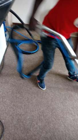 Deep cleaning of carpets in Gauteng
