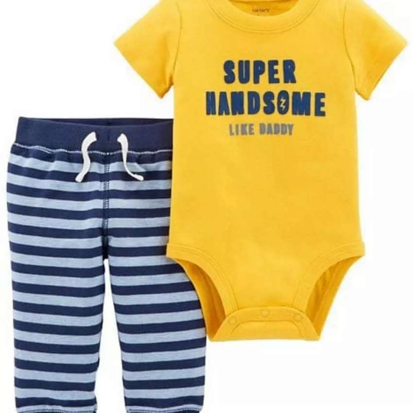 2 piece set short sleeve body suit and pant 0