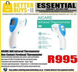 AICARE A66 Infrared Thermometer -Non-Contact Forehead Thermometer R995