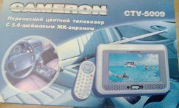 Переносной цветной ТВ Cameron CTV-5009