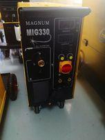 Spawarka inwerterowa MAGNUM MIG 330 R 4x4 migomat MIG/MAG 400V 4r
