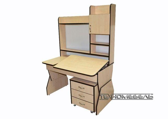 Парта-письменный стол с надстройкой от 3-х до 18 лет Киев - изображение 1