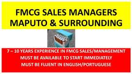 FMCG Sales Manager (to relocate to Maputo)