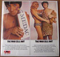 Продам пластинку (винил) THE WHO - Sell Out