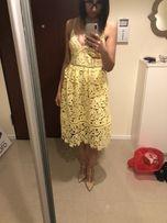 Sukienka guess self-portrait na wesele święta sylwestra zara mango
