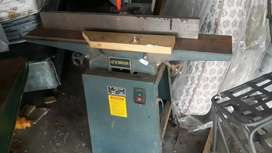 Woodworking machine jointed planer