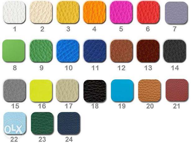Pufy-Pufa KWADRATOWA 40/35 X 43 na chromowanych nóżkach Mosina - image 3
