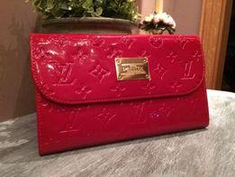 Torebeczka/ portfel ala Louis Vuitton czerwona