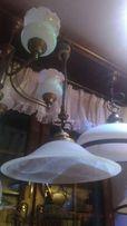Lampa kuchenna z regulacją mosiężna promocja