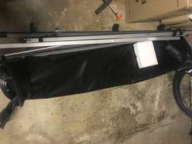 Soft Tonneau cover for double cab bakkie with roll bar