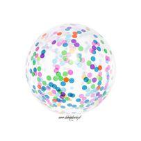 Balon transparentny z konfetti1m