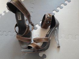 Szpilki sandały Stradivarius 37 crystal poszukiwane
