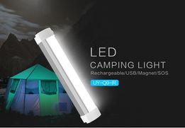 Lampa do namiotu led akumulator