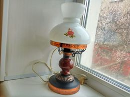торшер ГДР 38см. светильник Германия ночник под керосиновую лампу