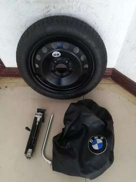16 inch Spare Wheel kit with Tools and Bag fits BMW 1 & 3 series cars