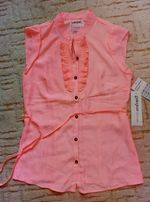 Блуза яркая неонового цвета глория джинс Gloria Jeans