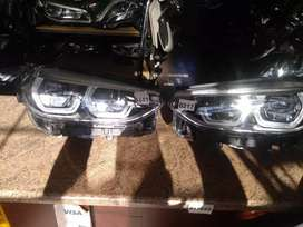 BMW X3 left and right headlight