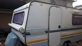 SPRITE SPRINT WITH RALLY TENT WITH SIDES AND ADD ON ROOM IN EXCELLENT
